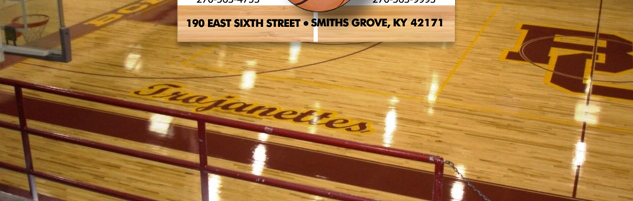 Quality gym floor at Barren County High School